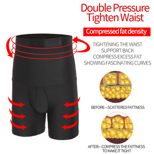 Image 5 - Mannen Body Shaper Afslanken Controle Panties Taille Trainer Compressie Shapers Sterke Vormgeven Ondergoed Mannelijke Modellering Shapewear