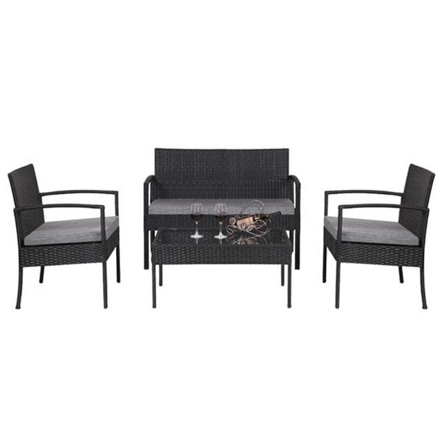 4 PCS Patio  Furniture Set  5