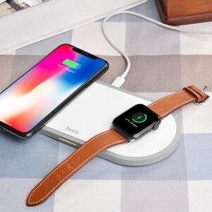 Image 5 - 高速オンチップ · オシレータ 2in1 オリジナルワイヤレス充電器アップル腕時計充電器シリーズ 5 4 3 2 磁気 i 時計 USB ケーブル充電器 iphone 11