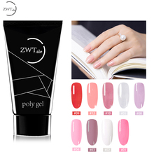 ZWTale 30ml Nail Poly UV Gel Polish Quick Building Extension Builder LED 9 Colors Curable Professional