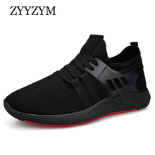 ZYYZYM Men Casual Shoes Fashion Sneakers Best Sellers Low Lace up Style Air Mesh New Outdoor Shoes Men Walking Promotion cheap Mesh (Air mesh) Rubber Lace-Up Fits true to size take your normal size Basic Spring Autumn YD-01 Solid Adult Breathable