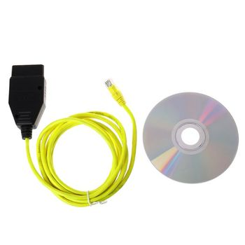 New ESYS Data Cable For BMW ENET Ethernet to OBD Interface E-SYS ICOM Coding for F-serie Diagnostic Cable image