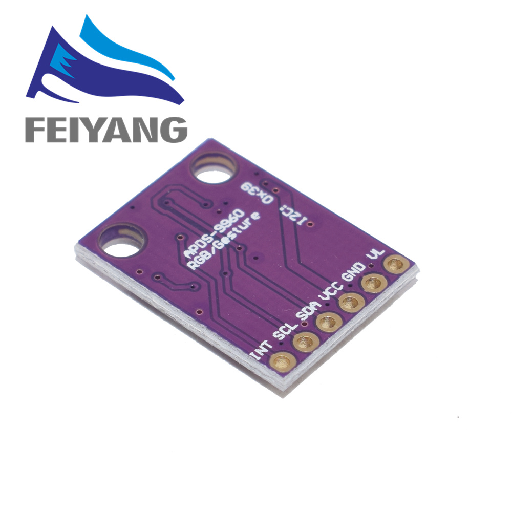 Image 2 - 10pcs GY 9960 3.3 APDS 9960 proximity detection and non contact gesture detection RGB and Gesture-in Sensors from Electronic Components & Supplies