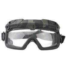 Страйкбол, охотничьи очки, очки для стрельбы, мотоциклетные ветрозащитные очки Wargame, шлем, очки для пейнтбола, защита глаз, новинка