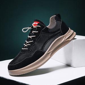Image 2 - Hommes chaussures décontractées confortable mode vulcaniser chaussures automne respirant baskets hommes loisirs de plein air chaussures Zapatillas Hombre