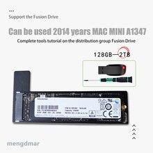 새로운 128GB 256GB 512GB 1 테라바이트 2 테라바이트 SSD for Mac 2014 미니 A1347 SSD plus 변환기 플러스 도구 두 번째 솔리드 스테이트 드라이브 ssd 추가