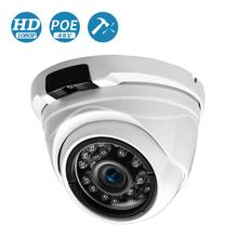 BESDER واسعة زاوية 2.8 مللي متر 720P 960P 1080P PoE CCTV قبة كاميرا داخلي في الهواء الطلق Vandalproof ONVIF المعدنية تحت الحمراء حالة IP كاميرا