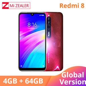 Image 4 - 2019 Global Version Xiao Redmi 8 Smartphone 4GB RAM 64GB ROM Snapdragon 439 10W Fast Charging 5000 mah Battery Cellphone