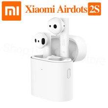 מקורי Xiaomi Airdots פרו 2s Mi אמיתי אלחוטי אוזניות TWS Mi אמיתי אוזניות אוויר 2s אלחוטי סטריאו שליטה עם מיקרופון דיבורית