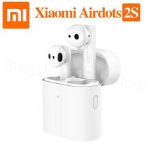 オリジナルxiaomi airdotsプロ 2 2sミ真のワイヤレスイヤホンtws mi真イヤ空気 2sワイヤレスステレオとマイクハンズフリー