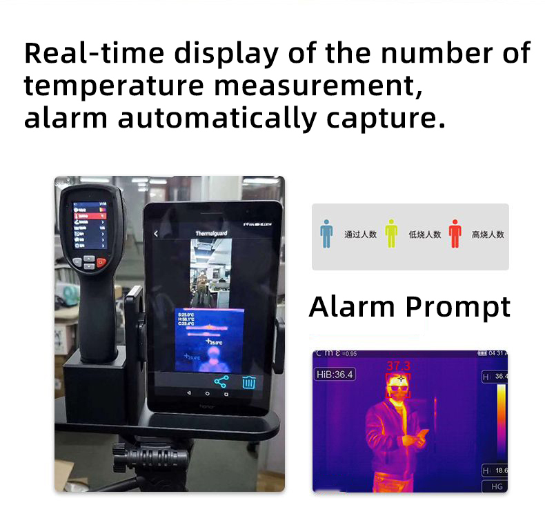 Infrared Thermal Camera With Live Streaming to Computer or TV Bluetooth For Human Body 29