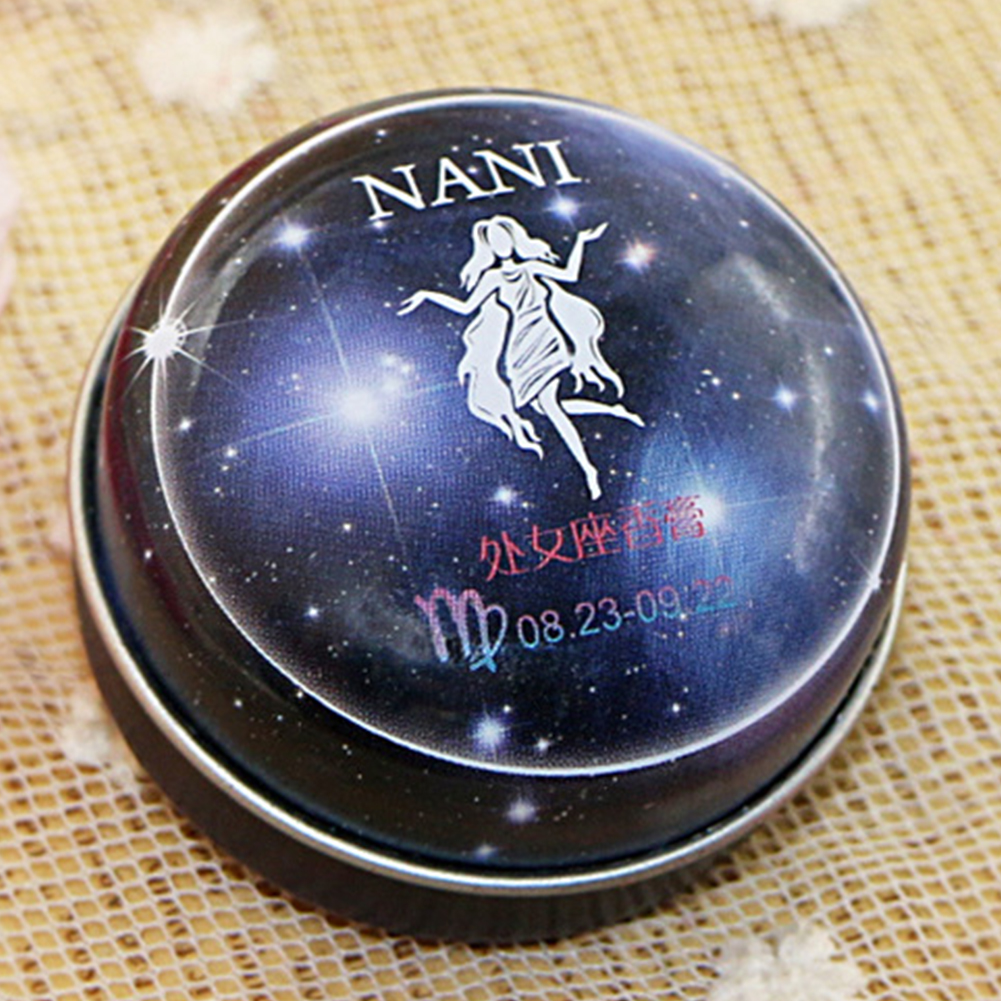 Solid Perfume Portable Skin Care Long-lasting Women Men 12 Signs Charm Essential Oil Body Romantic Deodorant Non-alcoholic Balm 5