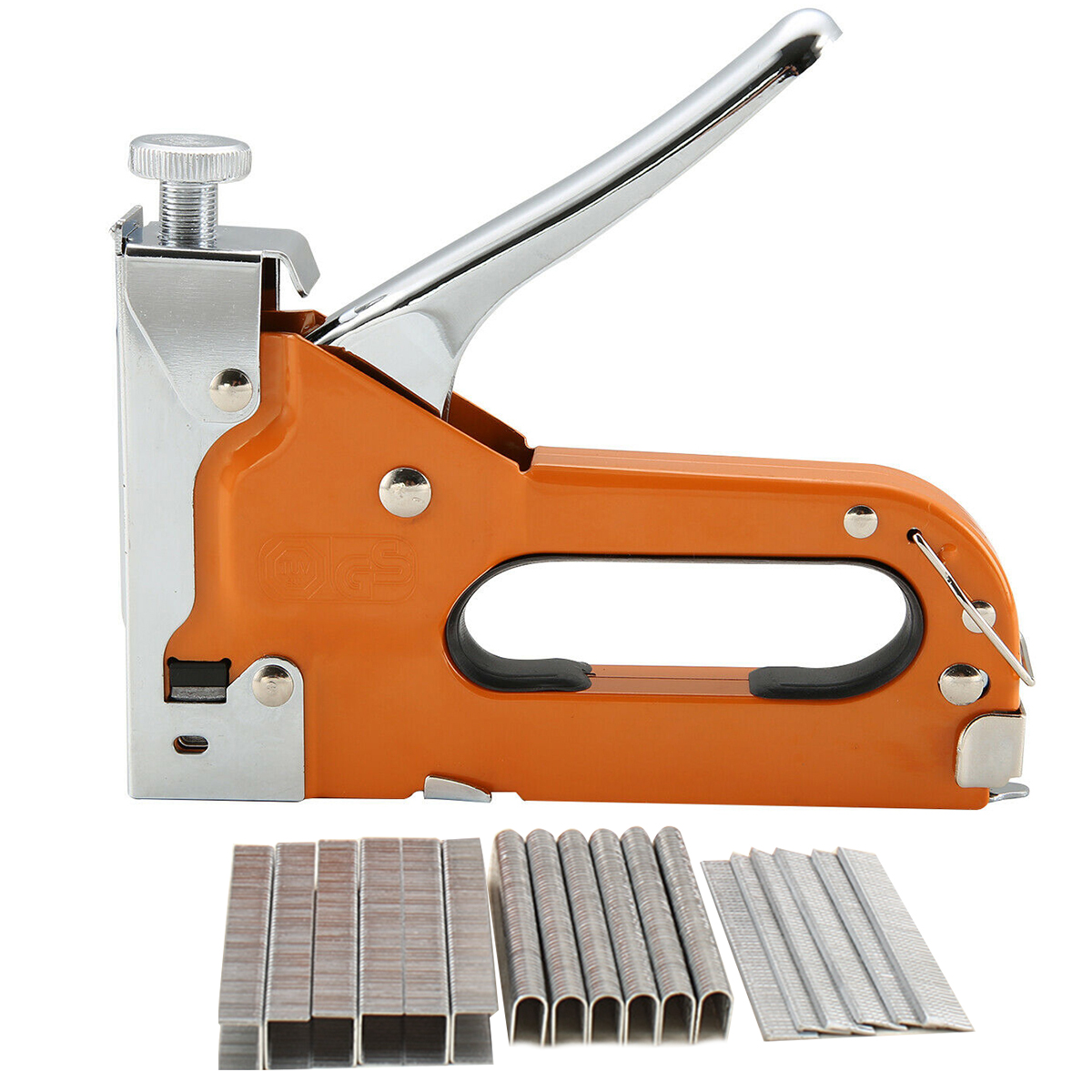 3-IN-1 Heavy Duty Manual Gun Stapler Tacker With 600 Staple For DIY Home Decoration Furniture Stapler Manual Nail