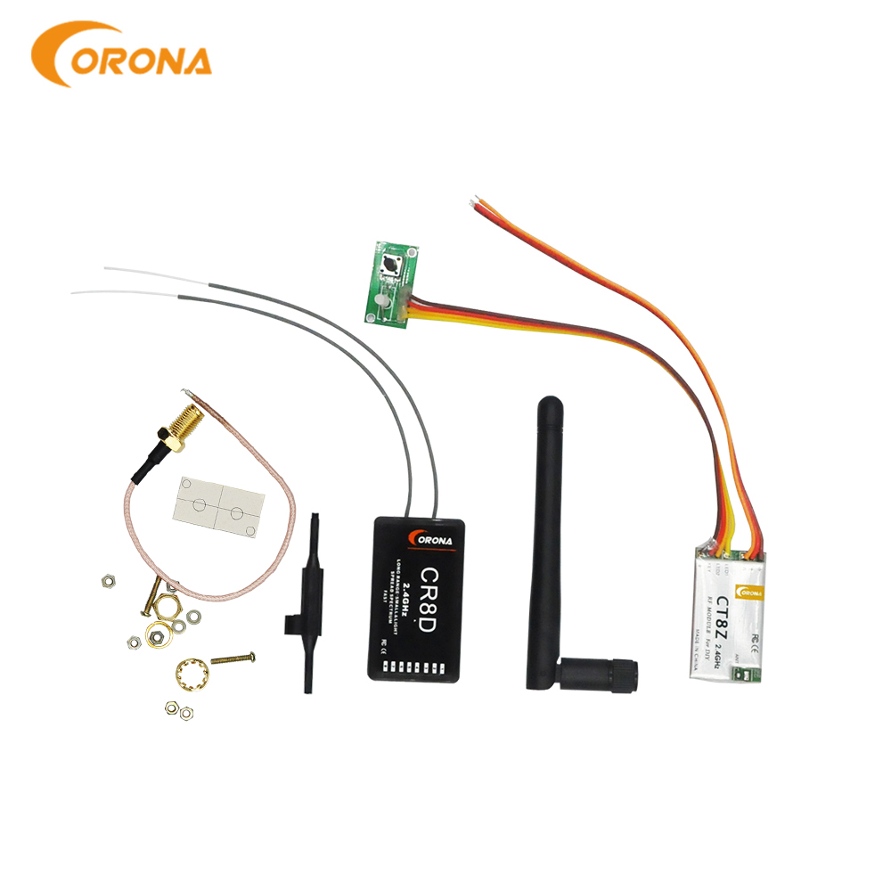 Corona 2.4Ghz DIY Module CT8Z (DSSS) with CR8D Receiver for RC Transmitter Airplane image