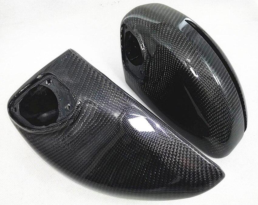 Per Au di R8 2007-11 TT TTS 2008-2014 tappi copri specchio sostituzione fibra di carbonio