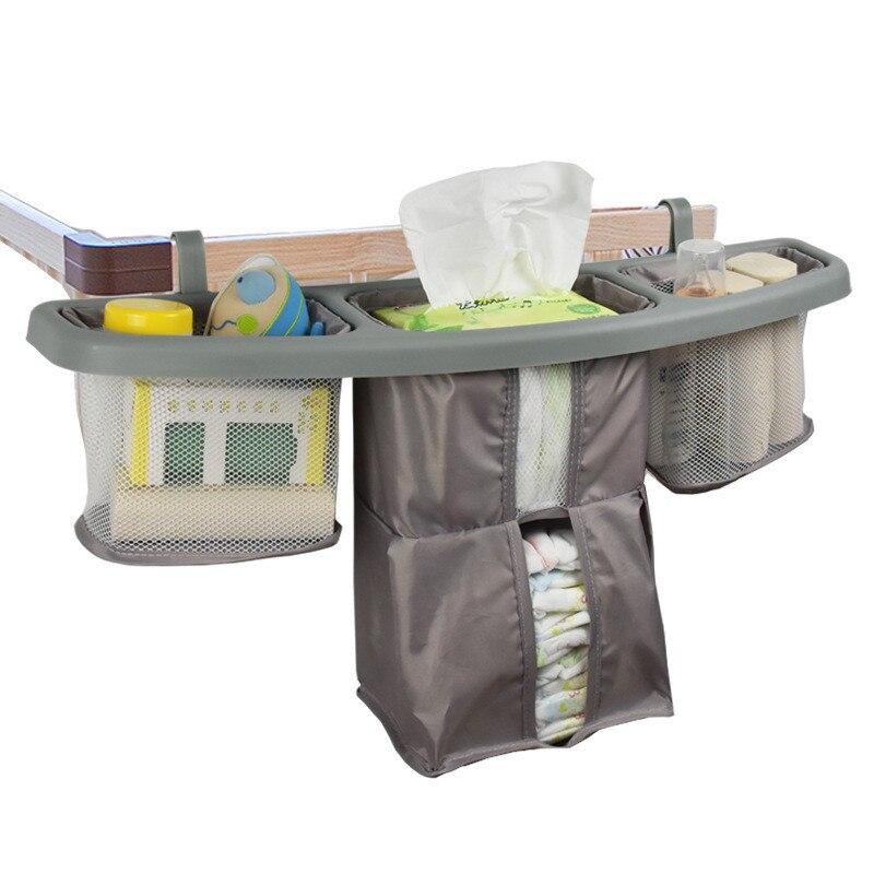 Baby Bed Storage Bag Baby Crib Organizer Baby Crib Hanging Storage Bag Bedside Diaper Bag Bedside Storage Bag