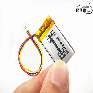 Pc-Bank Tablet 300mah 402035-Polymer Lithium-Ion/li-Ion-Battery for GPS Mp3 Mp4 Jst-Ph-1.0mm