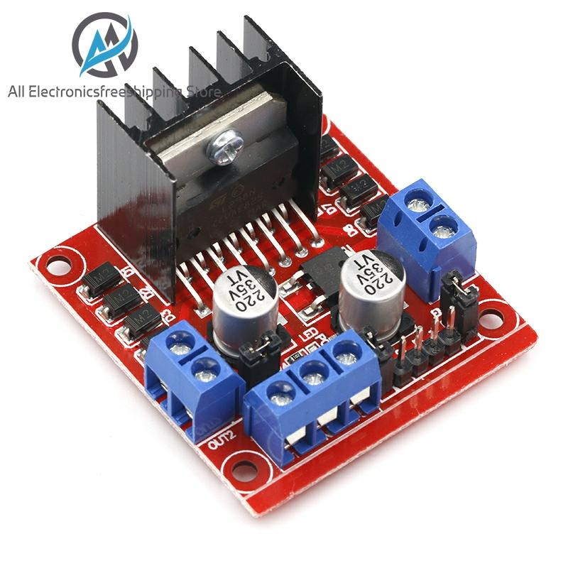 1pcs L298N Driver Board Module L298 Stepper Motor Smart Car Robot Breadboard Peltier High Power