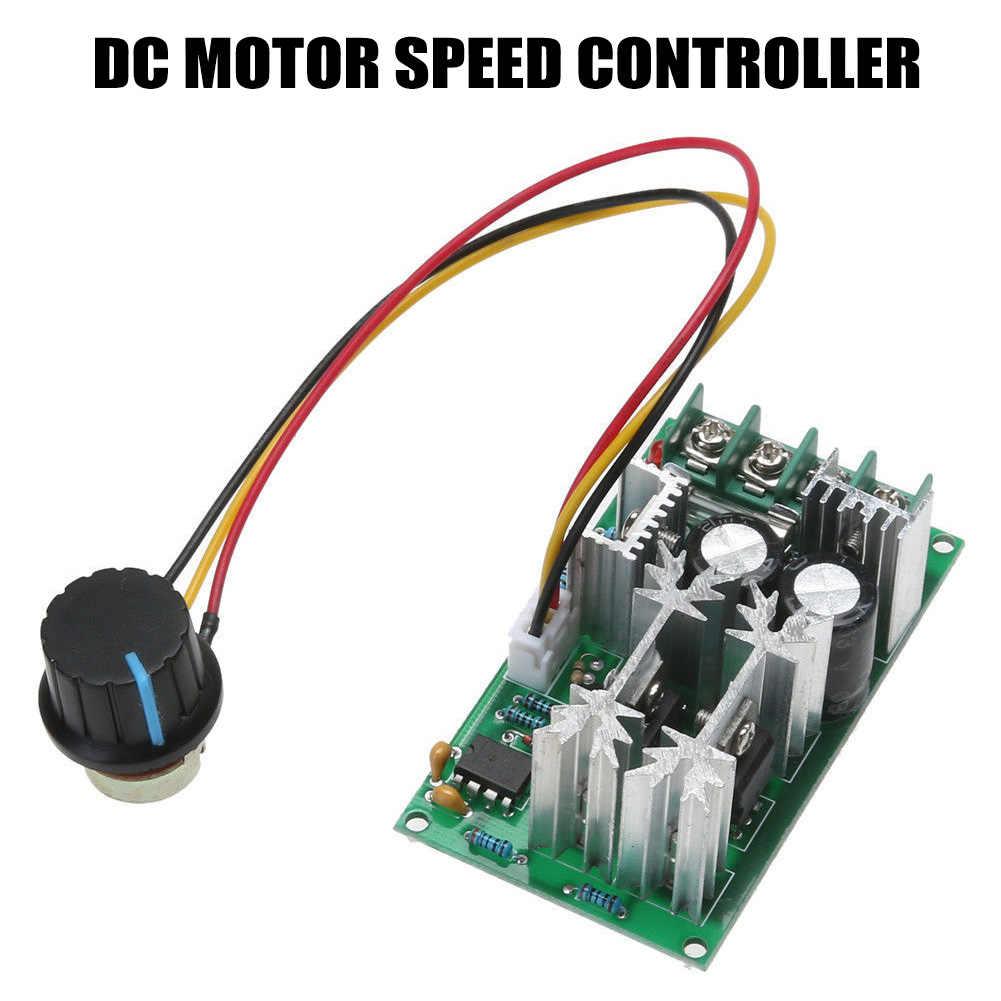 Module de contrôleur de vitesse de moteur de ventilateur de PWM 1200W 20A DC 12 V/24 V/36 V/48 V/60 V 25KHZ J8 #3