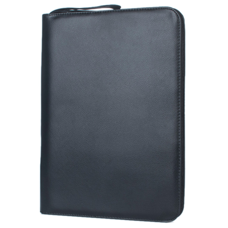 1 PC Black Fountain Pen Color PU Leather Storage Case Holder For 48 Pens