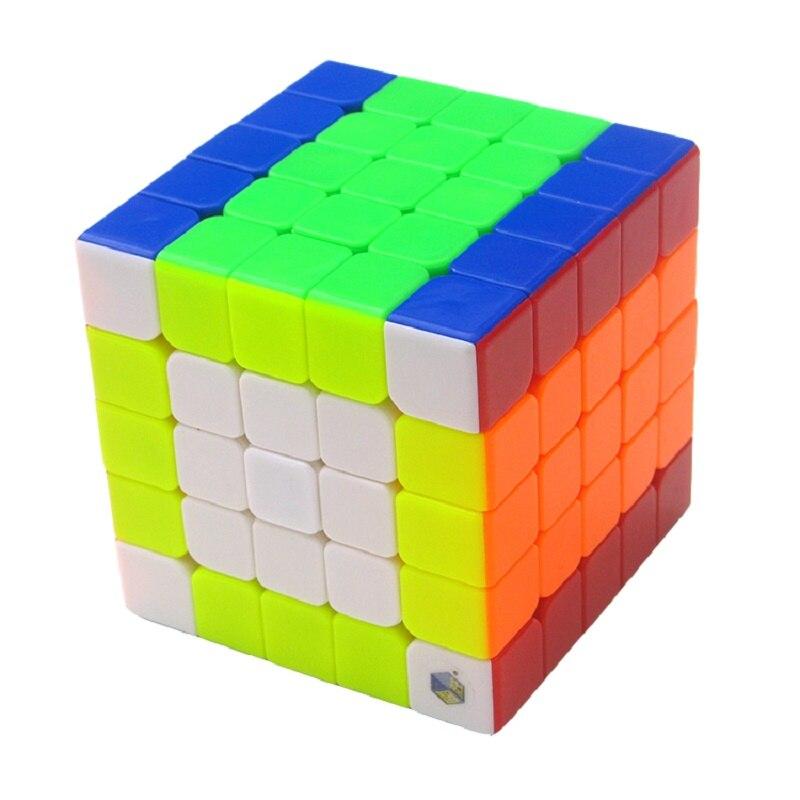 Оригинальный облачный кубик Yuxin, скоростной Neo 5x5x5, волшебный кубик-головоломка 5x5, образовательный кубик для детей, для мальчиков, офисный по...
