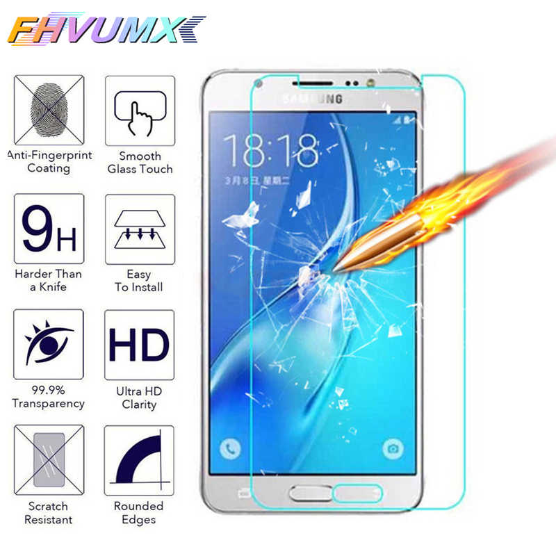 0.26mm Protective Glass For Samsung Galaxy J3 J5 J7 A3 A5 A7 2015 2016 2017 A6 A8 Plus 2018 Tempered Glass Screen Protector Film