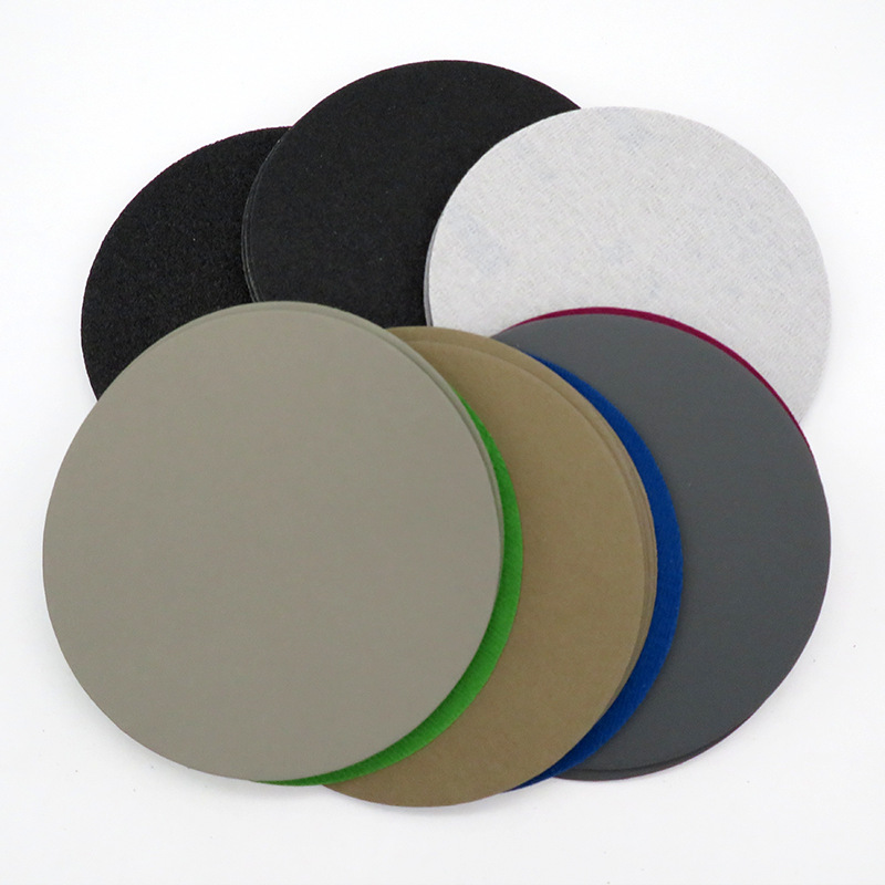 996A 6-Inch 150 Mm Round Plates Sand Mill Dry Grinding Wet Grinding Polishing Water Resistant Sandpaper 5000 Mesh Flocked