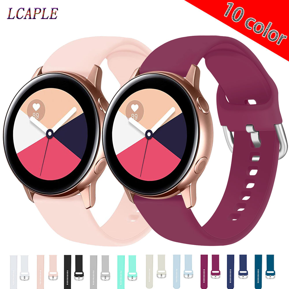 Strap For Huawei Watch Gt 2 Strap Samsung Galaxy Watch Active 2/46mm/42mm Amazfit Bip Strap 20/22mm Watch Band Gear S3 Frontier