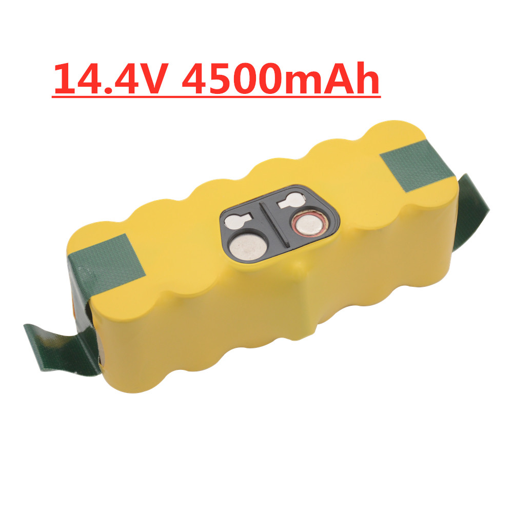 Upgrade  14.4v 4500mAh Replacement Battery Extended-for IRobot Roomba 500 600 700 800 Series Vacuum Cleaner 785 530 560 650