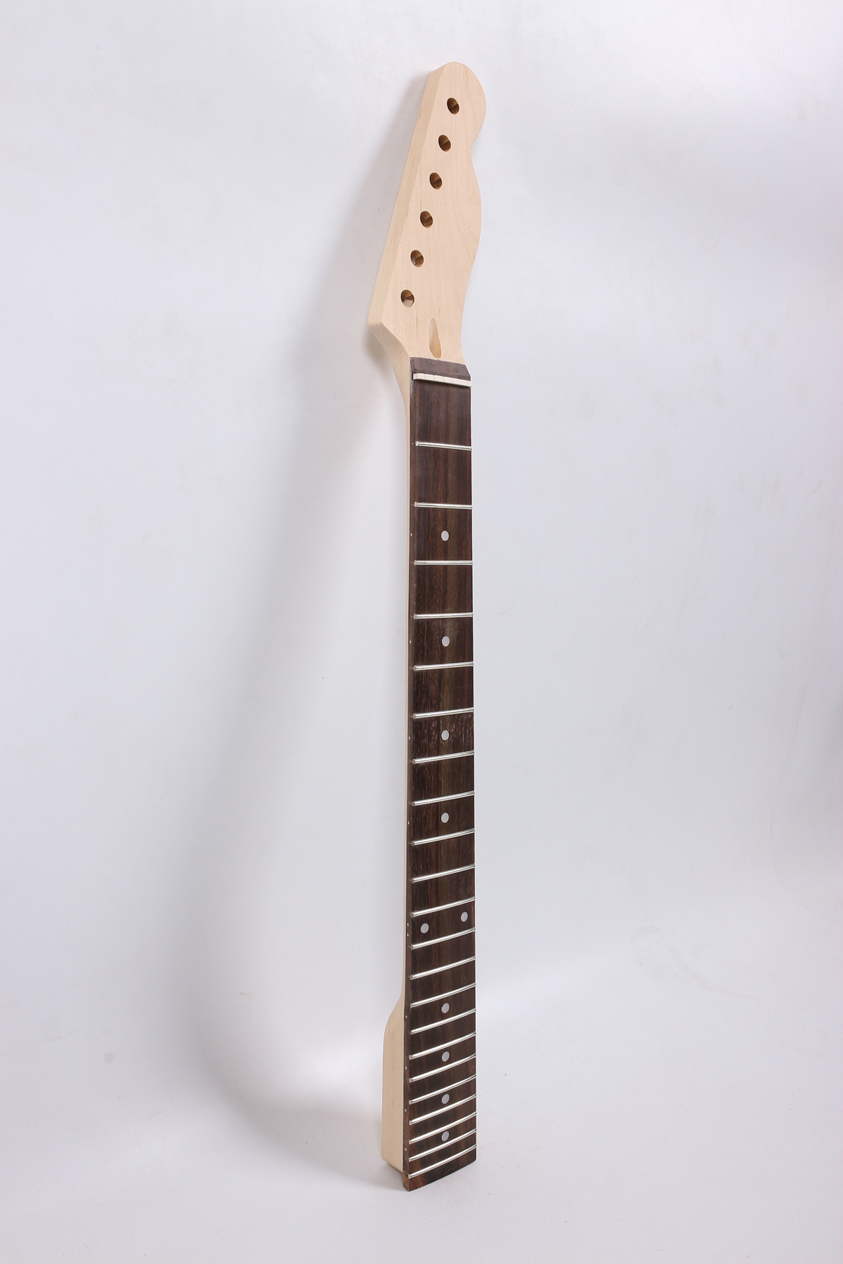 Yinfente Telecaster Electric Guitar Neck Replacement 22 Fret Rosewood Fretboard Dot Inlay 25.5 Inch Maple Neck #TL76