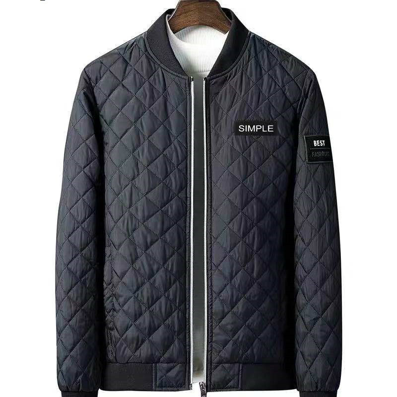 6XL 5XL 100% Cotton jacket Men Winter Thickened Parkas Slim-cut Warm Padded Overcoats Stand Collar Male Wind Breaker fit Jack
