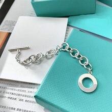 Tif 2020 классический браслет ot любовь для женщин серебро s925