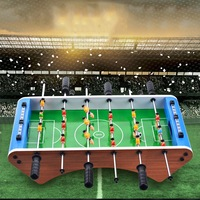 Funny Table Foosball Soccer Games Table Top Sports for Home Family Party Leisure Table Game Kids Toy Gifts Green