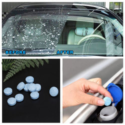 10/20/50 pces (1 pces = 4l água) limpador de carro sólido fino seminoma limpador pára-brisa limpador de vidro limpeza de janela automóvel acessórios do carro