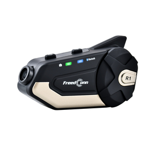 Freedconn R1 мотоциклетный шлем, домофон, Wi-Fi 1080P HD DVR камера, беспроводная Bluetooth гарнитура BT Intercomunicador 6 Riders