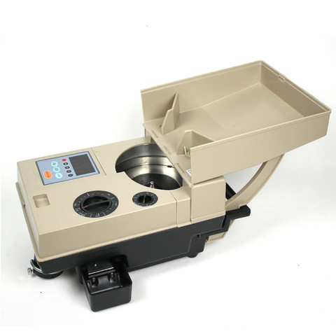 equipamento eletronico automatico do classificador da moeda da maquina de contagem das moedas de alta