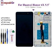 Lcd Voor Huawei Honor 6X Touch Screen Display Met Frame Vervanging Voor Honor 6X Lcd Bln l21 GR5 2017 Lcd