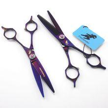 Professional Hairdressing Scissor Hair Scissors 6 inch Cutting Scissors Kit Hair Straight Thinning Scissors Barber Salon Tools все цены