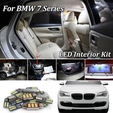 Для BMW серий 7 E38 E65 E66 E67 F01 F02 F03 F04 G11 G12 светодиодный Подсветка салона комплект ошибок SMD светодиодный лампы белого цвета(1994