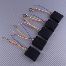 LETAOSK 5PCS 3 Way 100-240V Table Desk Light Lamp Touch Control Switch Sensor Dimmer Black
