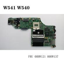 For Laptop Thinkpad W541 W540 N15P-Q1-A2 Motherboard FRU 00HW121 00HW137