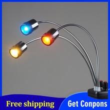 Luz de fondo mágica LED Falcon Eyes Triple 3 para Macro tiro, fotografía de joyería, productos de fotografía, DV 3B de Youtube