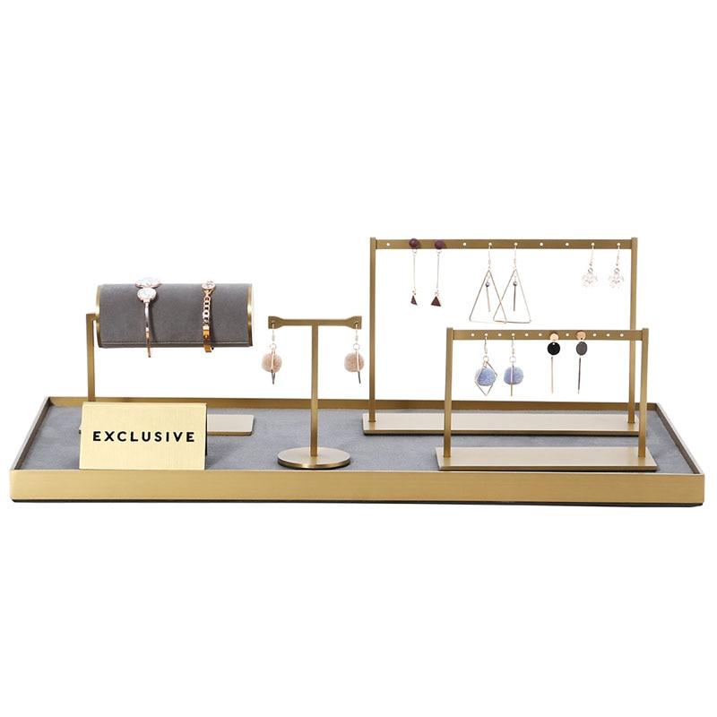 Jewelry Display Set Jewelry Organizer For Hanging Earrings Bracelet Holder