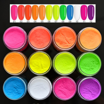 2 w 1 Nail fluorescencyjny proszek do zanurzania proszek akrylowy i proszek do zanurzania 2 zastosowanie 12 kolorów 1 uncja 28g neonowy proszek akrylowy do paznokci BZY2 tanie i dobre opinie MAFANAILS CN (pochodzenie) 1 Jar 1 ounce Akryl i cieczy Acrylic As pictures show Neon Acrylic Powder Liquid Nail acrylic powder