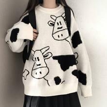 Camisola pulôver outono e inverno nova camisola pulôver doce feminino estudante versão coreana solta selvagem camisola casaco tendência 2021