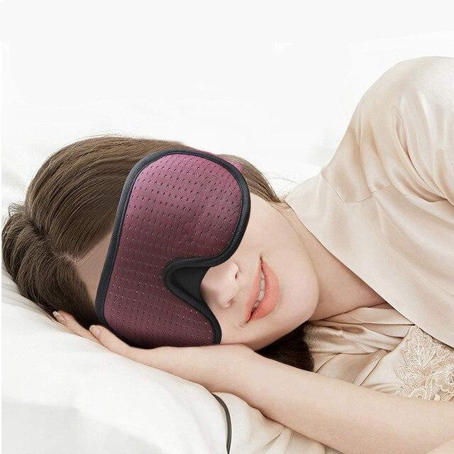 Blocking Light Sleeping Eye Mask Soft Padded Travel Shade Cover Rest Relax Sleeping Blindfold Eye Cover Sleep Mask Eyepatch 4