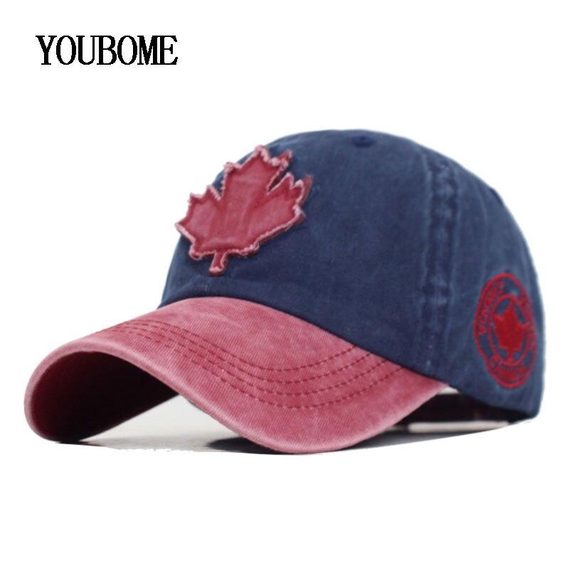 Brand Women Baseball Cap Canada Snapback Caps Hats For Men Casquette Bone MaLe Trucker Outdoor Sports Dad Men Baseball Hat Cap