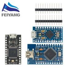 Pro micro/mini usb 5v 16mhz módulo de placa para arduino/leonardo ATMEGA32U4-AU/mu controlador pro-micro substituir pro mini