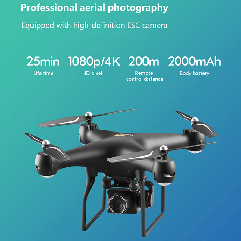 KaKBeir Professional Drone with 4K ESC Camera HD WiFi FPV Altitude Hold Wide Angle RC Quadcopter Helicopter S32T Toy VS XY4 E58 5