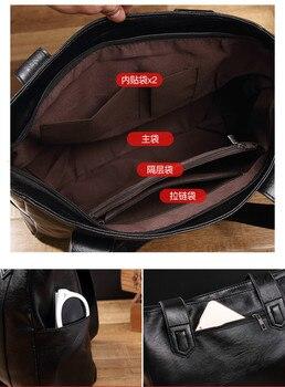 Embossing Leather Shoulder Bag 3